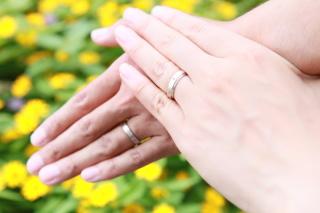 【杢目金屋(もくめがねや)の口コミ】 出会いはゼクシィなびで指輪の案内をされた時にパンフレットを見て、和風…