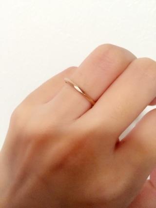 【Princess Bijou(プリンセス・ビジュー)の口コミ】 どの指輪も可愛くてとても悩んだのですが、この指輪の決め手となったのは…