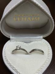 【LEHAIM(レハイム)の口コミ】 指が太いのでブランドもので合う指輪があまりなく、卸問屋が経営する店舗…