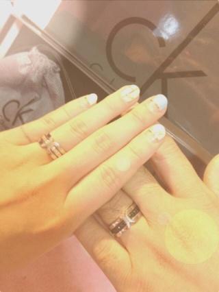 【Calvin Kleinの口コミ】 私のおねだりで婚約指輪を買いに行く事になりました。私の理想の指輪はピ…