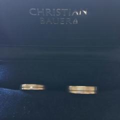 【CHRISTIAN BAUER(クリスチャンバウアー)の口コミ】 ふたりともシンプルでかっこ良く品質のよいものを望んでいました。そのほか…