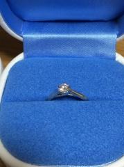 【銀座ダイヤモンドシライシの口コミ】 シンプルであまり高さがないデザインが良くて探していました。シライシさん…
