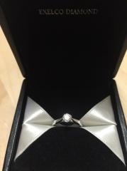 【エクセルコダイヤモンド(EXELCO DIAMOND)の口コミ】 アクセサリー以外の商品展開をしていないブランドのもので、結婚式やパーテ…