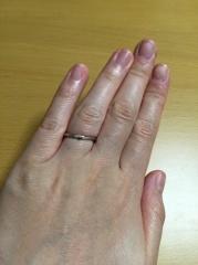 【アイプリモ(I-PRIMO)の口コミ】 婚約指輪と同じブランドでの購入ですと、やはりダブル付けしたときにも可…