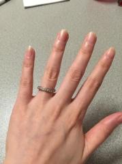 【アイプリモ(I-PRIMO)の口コミ】 婚約指輪がなかったので、結婚指輪にお金をかけることにしました。ダイヤモ…