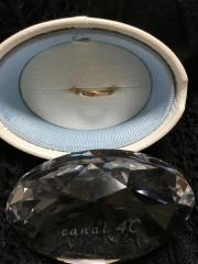 【canal4℃(カナルヨンドシー)の口コミ】 ピンクゴールドが大好きで、結婚指輪はピンクゴールドと決めていました。シ…