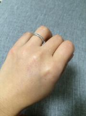 【フラー・ジャコー(FURRER-JACOT)の口コミ】 2人の指にしっくりくるものをずっと探していました。4、5軒ブライダルリ…