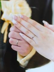 【カルティエ(Cartier)の口コミ】 カルティエのブランドに憧れていたので結婚指輪はカルティエがいいなぁと思…