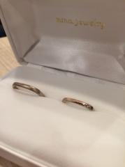 【mina.jewelry(ミナジュエリー)の口コミ】 私たちで材料から選ばせてもらい、デザインまでさせてもらいました。私たち…