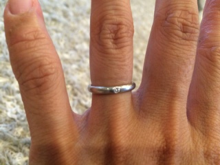 【ケイウノ ブライダル(K.UNO BRIDAL)の口コミ】 ゼクシィで指輪を買うお店を決めて直接店舗へ行き、あらかじめ考えていたデ…