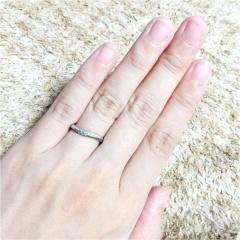 【4℃(ヨンドシー)の口コミ】 婚約指輪はタンスの肥やしになりやすいと聞き普段も着けれるものにしたい…