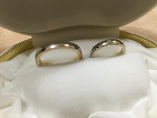【カオキ ダイヤモンド専門卸直営店の口コミ】 製法が変わっていて、オリジナルと聞き、決めました。 デザインも一見普通…