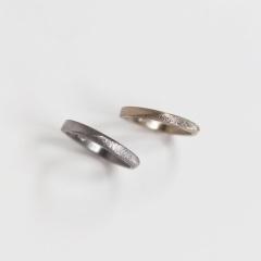 【mina.jewelry(ミナジュエリー)の口コミ】 普通の結婚指輪ではなく、自分達らしい結婚指輪をオーダーできることがす…