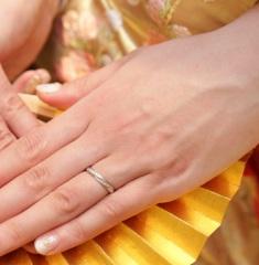 【ギンザタナカブライダル(GINZA TANAKA BRIDAL)の口コミ】 婚約指輪を比較的リーズナブルな価格のものにしたため、結婚指輪には予算…