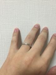【銀座ダイヤモンドシライシの口コミ】 長く着用していくつもりなのでプラチナにすることは決めていました。 いく…