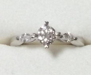 【アイプリモ(I-PRIMO)の口コミ】 指輪のカットはEXCELLENTをお願いしたのでお値段が少々高めにはな…