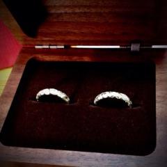 【レザンジュの口コミ】 セミオーダーで世界に一つしかない指輪を作れます! 自分たちで、ハワイア…