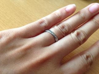 【スタージュエリー(STAR JEWELRY)の口コミ】 結婚指輪は肌身離さずずっとつけれるものにしたかったのでシンプルな物を選…