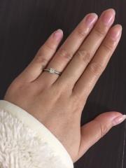 【ティファニー(Tiffany & Co.)の口コミ】 婚約指輪は、シンプルなデザインのものを希望しました。 ティファニーのプ…