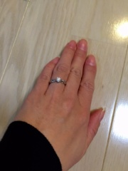 【シャネル(CHANEL)の口コミ】 最初からシャネルと決めていてゴージャスにダイヤを大きめにしました。結…