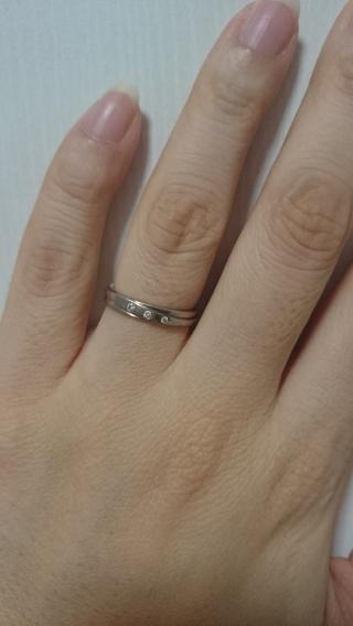 【MEISTER(マイスター)の口コミ】 指輪は鍛造にしようと前もって決めていたので、鍛造のブランドに絞って色々…
