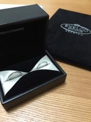 【エクセルコダイヤモンド(EXELCO DIAMOND)の口コミ】 どうしてもハーフエタニティのデザインが欲しかったので、それを中心に沢山…