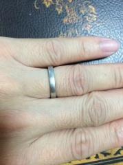 【ete(エテ)の口コミ】 結婚指輪で購入。お互い特に強いこだわりなどはなかったため、比較的安価な…