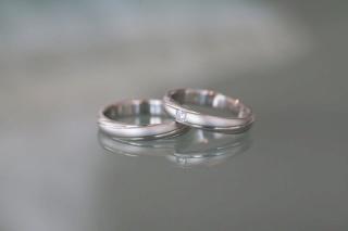 【True Love(トゥルーラブ)の口コミ】 当時婚約中だった彼と一緒に、店員さんの話を聞きながら選びました。二人…