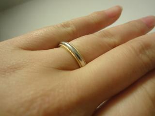 【ティファニー(Tiffany & Co.)の口コミ】 婚約指輪がティファニーのものだったので、結婚指輪もティファニーで買う…