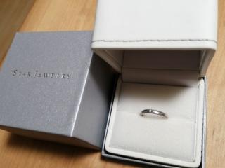 【STAR JEWELRY(スタージュエリー)の口コミ】 結婚指輪を購入する際、毎日身に着けるものだから、「シンプルで着けやす…