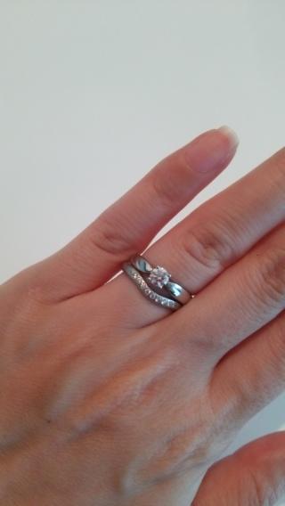 【ティファニー(Tiffany & Co.)の口コミ】 私は手が小さく指も細いので、リング自体が細めな物を探していました。色…