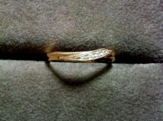 【HISTOIRE de Filondorの口コミ】 ミル打ち、PG、小さなダイヤ。結婚指輪に欲しかった要素をすべてクリア!…