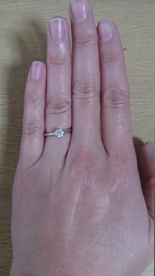 【ティファニー(Tiffany & Co.)の口コミ】 婚約指輪のイメージがティファニーだったので、ブランドは迷うことなく決…