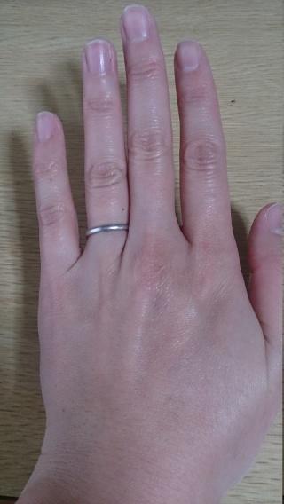 【ティファニー(Tiffany & Co.)の口コミ】 エンゲージリングもティファニーで購入していたので、結婚指輪もティファ…