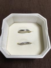 【4℃(ヨンドシー)の口コミ】 結婚指輪は4℃で!と決めていました。とにかく長く着けていても飽きのこな…
