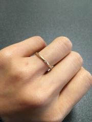 【フラー・ジャコー(FURRER-JACOT)の口コミ】 こちらのブランドのオーダー指輪は指輪の太さ・色・デザインを選ぶことが…