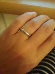 【ティファニー(Tiffany & Co.)の口コミ】 やはり結婚指輪はこれから長い間つけているものなので、ダイヤなども入って…