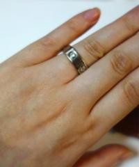 【カルティエ(Cartier)の口コミ】 婚約指輪は少し存在感のあるものがいいと漠然と思っていて、ずっと憧れの…
