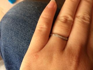 【4℃(ヨンドシー)の口コミ】 ダイヤがはいった結婚指輪がよかったこと、ディズニーがすきなことからこ…