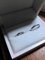 【ギンザタナカブライダル(GINZA TANAKA BRIDAL)の口コミ】 結婚指輪はシンプルなものが欲しかったのですが、とてもシンプルなデザイ…