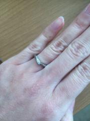 【俄(にわか)の口コミ】 私は細めの指輪がよく、旦那は太めの指輪を希望しており、さらに結婚指輪な…