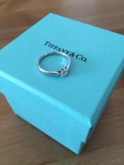 【ティファニー(Tiffany & Co.)の口コミ】 一生に一度の婚約指輪なので、自分の思い描いていた理想の形が欲しいなと思…