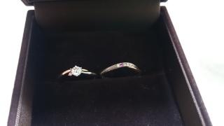 【I's stone(アイズストーン)の口コミ】 ピンクダイヤが欲しくて、このお店に来ました。 決め手はデザインでした。…