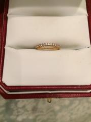 【カルティエ(Cartier)の口コミ】 始めからカラーはピンクゴールドで探していました。今まで指輪を付けること…