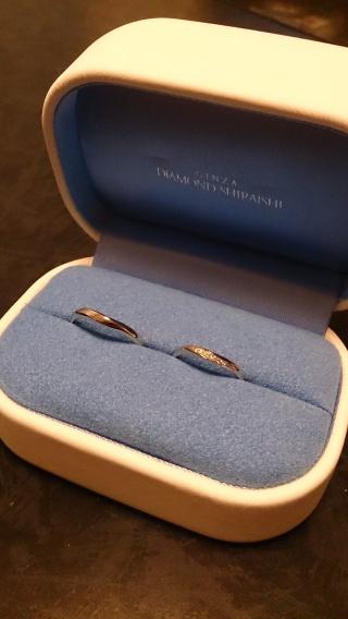 【銀座ダイヤモンドシライシの口コミ】 理想の指輪を求めて3軒まわりましたが、一番私の指にしっくりくる指輪に…