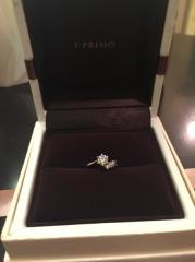 【アイプリモ(I-PRIMO)の口コミ】 流れ星のようなメレダイヤのデザインと、ミルククラウンのように蕩けてしま…