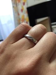【AtelierSoeta(アトリエソエタ)の口コミ】 色々な雑誌を見ていましたが、手作りで1から世界にひとつだけの結婚指輪を…