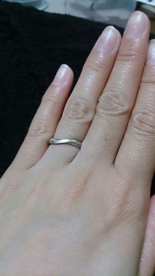 【俄(にわか)の口コミ】 最初は旦那との指輪のブランドを別々にするつもりでしたが、俄さんの&ld…