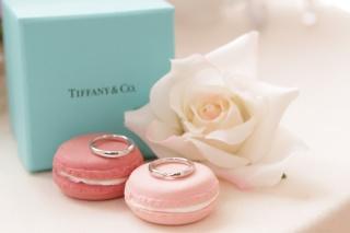 【ティファニー(Tiffany & Co.)の口コミ】 ハーモニーのデザインに一目惚れして購入しました。ダイヤが付いているの…