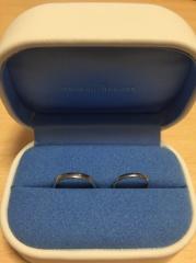 【銀座ダイヤモンドシライシの口コミ】 シンプルなデザインで、細いサイズでも長年つけていける耐久性のある、プ…